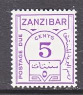 ZANZABAR  J 18  * - Zanzibar (...-1963)