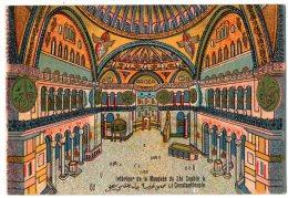 Illustrateur Bonesteve Alger - Interieur De La Mosquée De Constantinople - Andere Illustrators