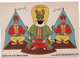 ILLUSTRATEUR Bonestève Alger - Religion - ISLAM - Sid Ali Et Ses 2 Fils - Andere Illustrators