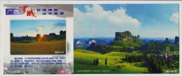 Stream Acacia Tree Forest,alpine Meadow Pasture,China 2013 Luocheng Landscape Advertising Pre-stamped Card - Holidays & Tourism