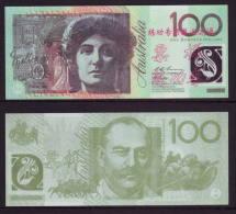 (Replica)BOC (bank Of China) Training/test Banknote,AUSTRALIA B-2 Series 100 Dollars Note Specimen Overprint - Fakes & Specimens