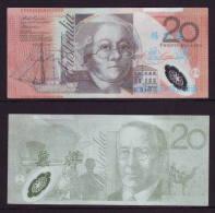 (Replica)BOC (bank Of China) Training/test Banknote,AUSTRALIA B-3 Series 20 Dollars Note Specimen Overprint,used - Fakes & Specimens