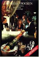 Reklame Werbeanzeige  -  Sekt Henkell Trocken  ,  ...das Perlen Die Welt Beschwingt  ,  Von 1973 - Alkohol