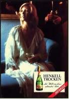 Reklame Werbeanzeige  -  Sekt Henkell Trocken  ,  Die Welt Von Ihrer Schönsten Seite  ,  Von 1976 - Alkohol