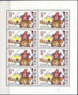 ##Czech Republic 2002.[112] EUROPE/CEPT. Circus. Sheetlet. Michel 319. MNH(**) - Blocks & Sheetlets
