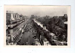 Cp , 75 , PARIS EN FLANANT , YVON , 54 , Perspective Sur La Rue De Rivoli , Les Tuileries Et Le Louvre , Vierge - Francia