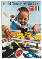 LEGO SYSTEM - CATALOGUE - SOVIEL NEUES GIBT'S VON LEGO. - Catalogs