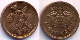 Denmark 25 Ore 2001 UNC - Denmark