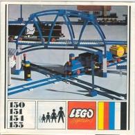 LEGO SYSTEM - CATALOGUE Et à La Fois LIVRE D'IDEES (150 - 151 - 154 - 155) - Catalogs