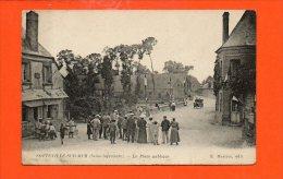 76 SOTTEVILLE Sur MER : La Place Publique - Autres Communes
