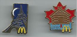 PIN115 - PIN´S MC DONALD'S QUEBEC E PARIS - McDonald's