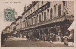 37-30430 - TOURS    -  RUE  NATIONALE , LES GALERIES - Tours