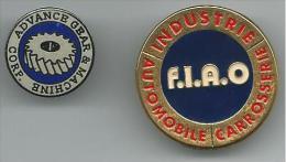 PIN118 - PIN´S ADVANCE GRAR & MACHINE CORP. - F.I.A.O. INDUSTRIE AUTOMOBILE CARROSSERIE - Pin's