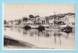 SAINT VALERY SUR SOMME - Le Port Et Le Quai Perrée + Voiliers - Saint Valery Sur Somme