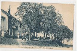 74 ... AU SOMMET DU SALEVE   Hotel Des XIII Arbres   1107 - Francia