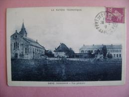 CP DOMESSIN N°2527  VUE GENERALE - ECRITE EN 1932 - Ohne Zuordnung