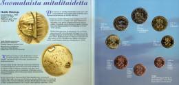 Blister EURO Finnland 2000 Prägeanstalt Helsinki Stg. 51€ Von Häiväoja Stempelglanz Staatlichen Münze Set Coins Of Soumi - Finland