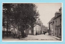 SAINT VALERY SUR SOMME - Square Et Rue De Ponthieu + Animation - Saint Valery Sur Somme