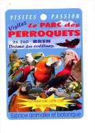 Fiche Visite Parc Perroquet Bren - Advertising