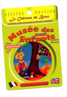 Fiche Visite Musee Enfant Bosc Theme Champignon Corbeau Renard - Advertising