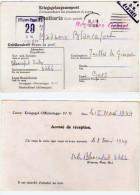 Camp De Prisonniers : Kriegsgef.-Offizierlager IV D - Accusé De Réception - Cachets (63202) - Guerre De 1939-45