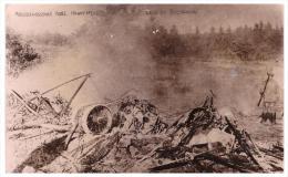 Abgeschossenes Russisches Kampfflugzeug B. Bogdanow , 1917 , Russland , Flugzeug , Weltkrieg !!! - Aviation