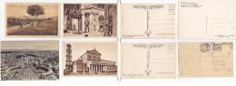 Roma A126 4 Cartoline (marchio Ferrovia) - Roma (Rome)