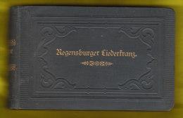 Regensburger Liederkranz, 417 Seiten ( 1881 - 1901 ) Tenor 1 - Bücher, Zeitschriften, Comics