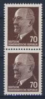 DDR Michel No. 938 Z ** postfrisch senkrechtes Paar / Altpr�fung
