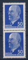 DDR Michel No. 937 Z R ** postfrisch senkrechtes Paar / Altpr�fung
