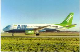 Thème -  Avion -  JMC Airlines Airbus A320 200 Series - 1946-....: Moderne