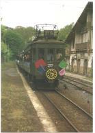 TRAIN Espagne - TREN, FERROCARRIL DEL UROLA (España) - IRAETA (gare) - Tren De La Música - Foto Pérez - Autorail,tramway - Gares - Avec Trains