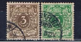 DR Deutsches Reich 1889 Mi 45-46 - Deutschland