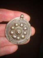 Grande Medaille Bysantine Argent - Arqueología
