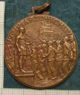 M_p> Medaglia XXVII Raduno Nazionale Alpini 1954 Roma - Italia