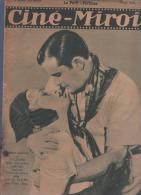 CINE MIROIR 1 01 1931 - ROBERT DARTHEZ LILY ZEVACO - ANNABELLA GERMAINE ROUER - JOAN CRAWFORD  GARY COOPER - RAMA TAHE - - Cinema/Televisione