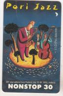 Finland Old Chip Phonecard - 1993 - Pori Jazz - Musik