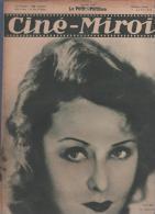 CINE MIROIR 9 01 1931 - LILIAN HARVEY - FRANCISQUE POULBOT - MARLENE DIETRICH - LA MEGERE APPRIVOISEE SAM TAYLOR - SIOUX - Cinéma/Télévision