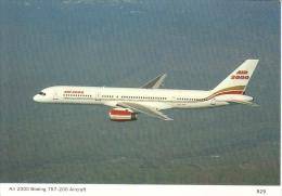 Air 2000  -  Boeing 757-200  -  Carte Postale - 1946-....: Moderne