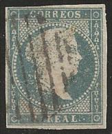 ESPAÑA 1855 - Edifil #41 - Precio Cat. €21 - 1850-68 Kingdom: Isabella II