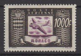 Monaco PA N° 44 Luxe ** - Luchtpost