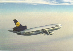 Lufthansa  -  Boeing 727  -  Carte Postale - 1946-....: Moderne