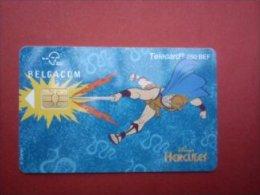 Phonecard Disney Hercules  Used Only 3000 Made Rare ! - Disney