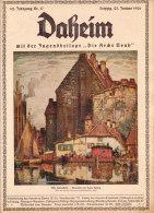 Daheim, - 62.Jahrgang Nr.17( Aus Der Zeit - Für Die Zeit ), Mit Kunstblätter Und Schöner Reklame - Ohne Zuordnung