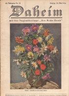 Daheim, - 62.Jahrgang Nr.34( Aus Der Zeit - Für Die Zeit ), Mit Kunstblätter Und Schöner Reklame - Zeitungen & Zeitschriften