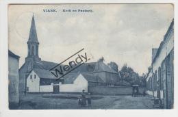 Viane (kerk En Pastorij)   Mooi   Blauwe Druk - Geraardsbergen