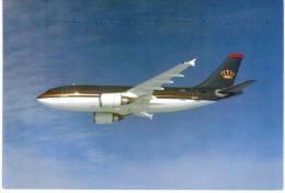 Thème -  Avion - Royal Jordanian - Airbus A310 - 1946-....: Moderne