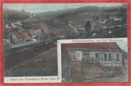 67 - GRUSS Aus TIEFFENBACH - Spezereihandlung Von Chr. REUTENAUER - Frankrijk
