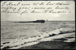 Denmark Card GL. SKAGE 1905 Sendt Til Hellebæk ( Lot 2682 ) - Danemark