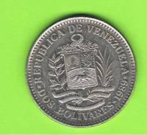 VENEZUELA -  2 Bolivar  1989  KM43 - Venezuela